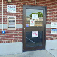 Image of the Advanz Credit Union Indiana branch entrance